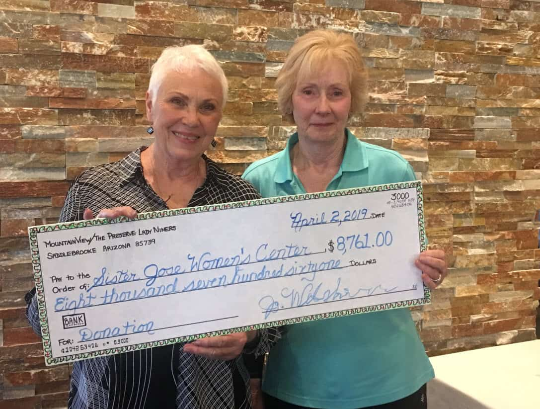 Sister Jose's Donation